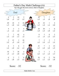 Easy Spelling Worksheets Algebra Worksheet  Missing Numbers In Equations Blanks  All  Solving Equations Worksheet Answers with Math Worksheets Kuta Excel The Fathers Day Dad And Daughter Challenge  All Operations Range  To   Telugu Letters Worksheets Word