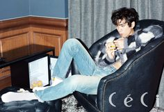 twenty2 blog: Sung Joon in CeCi November 2014 | Fashion and Beauty