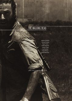 the walking dead || poster