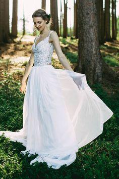 Nádherné svatební šaty od designérky Kristýny Kottové pro váš dokonalý den! 69cf925378