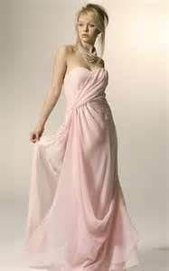 I like the way this dress wraps diagonally on top