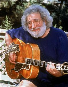 Jerry Garcia.  What a long strange trip indeed.