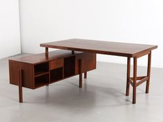 Desk, ca. 1957-58 | Pierre Jeanneret | Galerie Patrick Seguin | 20th Century Furniture & Architecture