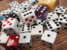 One thing I cannot live without in my classroom would be my bag of dice! A hodgepodge of colors and shapes, they are never far from my desk...