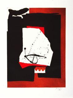 Robert Motherwell. Alphabet Series,1986. Lithograph