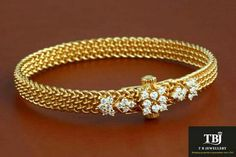 Diamond hook thoda bangle