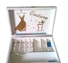 Caixa para costura Vintage 2   Bragatto Atelier   Elo7