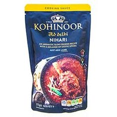 Old Delhi Nihari Curry Sauce - Kohinoor. Buy Old Delhi Nihari Curry Sauce online from Spices of India - The UK's leading Indian Grocer. Free delivery on Old Delhi Nihari Curry Sauce - Kohinoor (conditions apply). Curry Sauce, Conditioner, Spices, Food And Drink, How To Apply, Spice