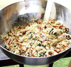 Så lätt är det att göra egna Soltorkade Tomater Quorn, Quinoa, Broccoli, Risotto, Grains, Rice, Vegetarian, Snacks, Ethnic Recipes