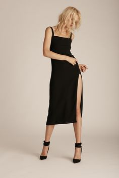 Trois Crawford Dress in Black, $250.00