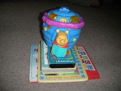 Winnie The Pooh Lot With VHS, Books, Light Up Honey Pot. #Disney