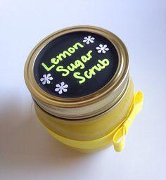Homemade Organic sugar scrub