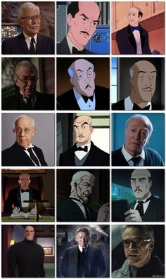 The many faces of Alfred Pennyworth