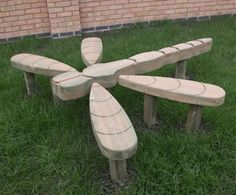 Dragonfly play sculpture | Hand Made Places