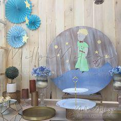 Στολισμός Βάπτισης-Candybar Μικρός Πρίγκιπας-The Little Prince