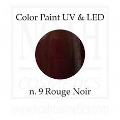 Color Paint uv gel n.9 Rouge Noir