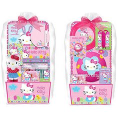 411 likes 7 comments tharvey72 on instagram saw these cute deluxe hello kitty activitysport easter basket 7 pc negle Images