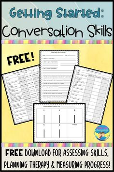 Need help figuring out how to get started with con… Social Skills Activities, Speech Therapy Activities, Speech Language Pathology, Language Activities, Speech And Language, Articulation Activities, Play Therapy, Therapy Ideas, Social Emotional Learning