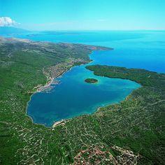 Bay of Punat, Krk Island - Kvarner, Croatia http://www.casademar.com