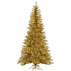 Red Ashley Pre-lit Christmas Tree by Sterling Tree Company - Bring ...