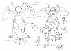 How to Draw a Griffin Gryphon 2 by *Diana-Huang on deviantART
