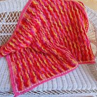 Unforgettable Berries and Cream Baby Blanket