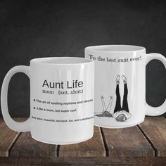 Auntie Mugs With Sayings Most Popular Item Right Now Top Selling Items Sister In Law Gift 40th Birthday Sold