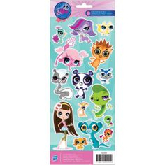 Littlest Pet Shop Kids Stickers  Gift for Girls  by iluvdesign, $3.95