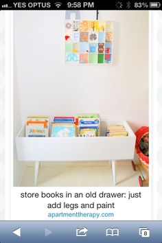 Recycling a drawer