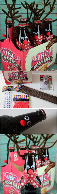 Root Beer Reindeer Gifts
