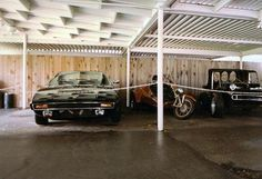 Elvis car port. This used to be on the tour. Located off jungle room