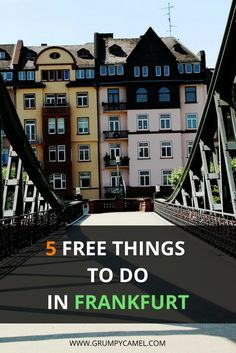 Free things to do in Frankfurt.