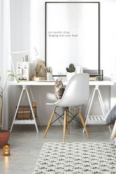 28 Work Seamlessly in a Scandinavian Home Office Now For those working from home, comfort and seamless navigation are some of the most crucial aspects. See our Scandinavian home office ideas fulfill those. Home Office Space, Home Office Design, Home Office Decor, House Design, Office Ideas, Office Designs, Small Office, Workspace Design, Office Furniture