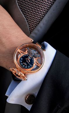 Cool Bovet watch - via: