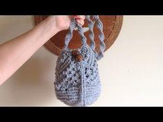 Macrame Bag, Macrame Knots, Macrame Bracelets, Paracord, Macrame Tutorial, T Shirt Yarn, Master Class, Diy And Crafts, Crochet Necklace