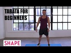 If you've never tried tabata, it does look very challenging. But there are modifications and tabata workouts for beginners that everyone will be able to complete. Lose Arm Fat, Lose Belly Fat, Tabata Workouts, At Home Workouts, Weight Loss Challenge, Weight Loss Program, Tabata For Beginners, Boxing Training Workout, Cider Vinegar Weightloss