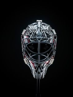 Price and CCM unveiled the first of his two World Cup of Hockey masks. Hockey Goalie, Hockey Players, Ice Hockey, Montreal Canadiens, Hockey Pictures, Hockey World Cup, Hockey Party, Goalie Mask, Best Player