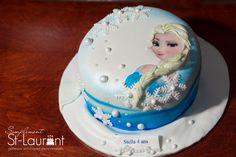 Gâteau La Reine des neiges \ Frozen