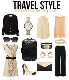 Going on a quick business trip? Pack light & chic.