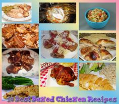 10 of the BEST Baked Chicken Recipes!