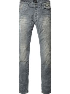 Pantalon super slim en velours côtelé | Pantalons | Habillement Homme Scotch & Soda