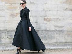 Streetstyle: So tragen Sie die große Robe