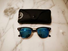 From Thoroughly Modern Milly's Blog: Ray-Ban Clubmaster #sunglasses http://www.smartbuyglasses.com/designer-sunglasses/Ray-Ban/Ray-Ban-RB3016-Clubmaster-Flash-Lenses-114517-220585.html