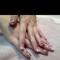 Nails I did on Miss Britney. Love them!!! <3