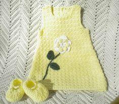 Baby Girl Crochet, Newborn Crochet, Easter Crochet, Knit Crochet, Toddler Sweater, Handmade Clothes, Handmade Baby, Hand Knitting, Kids Outfits