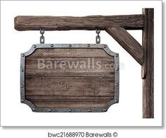 Barewalls has low-cost art prints, posters, and frames. Art Print of Old wooden medieval tavern signboard isolated on white. Wholesale prices on frames. Search 33 Million Art Prints, Posters, and Canvas Wall Art Pieces at Barewalls. Basement Bar Plans, Basement Bar Designs, Outdoor Wall Clocks, Picture Frame Crafts, Sign Board Design, Home Garden Design, Ceiling Beams, Hanging Signs, Diy Home Improvement