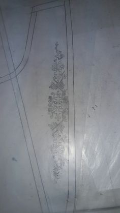 Local Embroidery, Border Embroidery Designs, Hardwood Floors, Flooring, Texture, Motifs, Crafts, Sketches, Ornaments