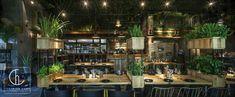 thiết kế nhà hàng sử dụng cây xanh 3