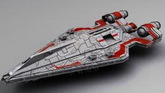 Upscaled version of Arquitens class Light Cruiser used by the Antarian Rangers . It had stronger guns , shields and hull Nave Star Wars, Star Wars Rpg, Star Wars Ships, Spaceship Art, Spaceship Design, Republic Cruiser, Star Wars Spaceships, Star Wars The Old, Starship Concept
