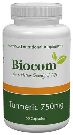 Turmeric 750 mg Nutritional Supplements, Turmeric, Coconut Oil, Jar, Food, Essen, Meals, Yemek, Jars